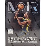2018/19 Panini Noir Basketball Hobby Box