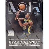 2018/19 Panini Noir Basketball Hobby Box