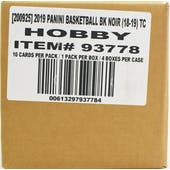 2018/19 Panini Noir Basketball Hobby 4-Box Case