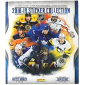 2018/19 Panini NHL Hockey Sticker Album 72ct Case