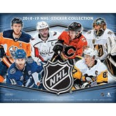 2018/19 Panini NHL Hockey Sticker COMBO - 2 30-Box Sticker Cases + 1 FREE 72ct Album Case!