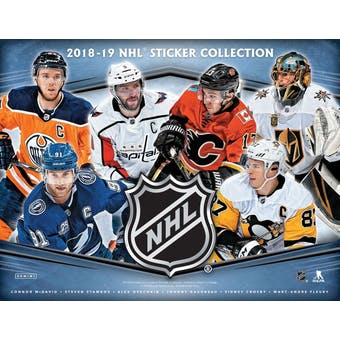2018/19 Panini NHL Hockey Stickers/Albums Combo Retail Display 4ct Case