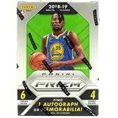 2018/19 Panini Prizm Basketball 6-Pack Blaster Box