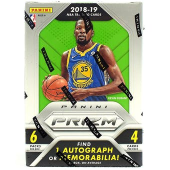 2018/19 Panini Prizm Basketball 6-Pack Blaster 20-Box Case- New Year 30 Spot Random Team Break #2