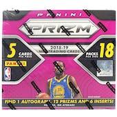 2018/19 Panini Prizm Fast Break Basketball Box