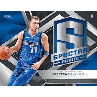 2018/19 Panini Spectra Basketball 8-Box Case- DACW Live 30 Spot Pick Your Team Break #1