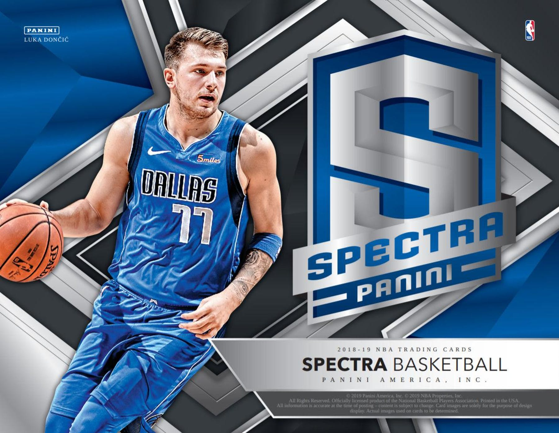 201819 Panini Spectra Basketball Hobby Box