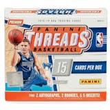2018/19 Panini Threads Basketball Premium Edition Box