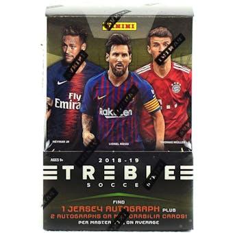 2018/19 Panini Treble Soccer Hobby Box
