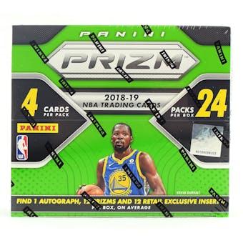 2018/19 Panini Prizm Basketball 24-Pack 20-Box Case - DACW Live 30 Spot Random Team Break #1