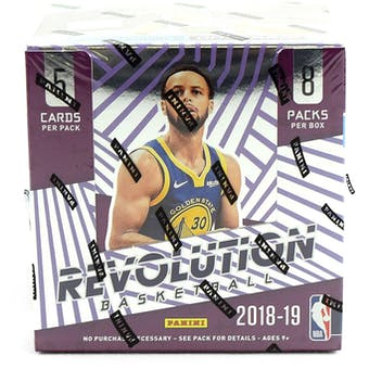 2018/19 Panini Revolution Basketball Hobby Box