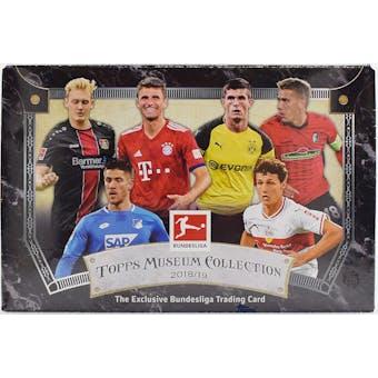 2018/19 Topps Bundesliga Museum Collection Soccer Hobby Box