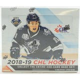 2018/19 Upper Deck CHL Hockey Hobby Box