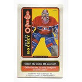 2018/19 Upper Deck O-Pee-Chee Hockey Hobby Box