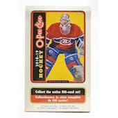2018/19 Upper Deck O-Pee-Chee Hockey Hobby Box