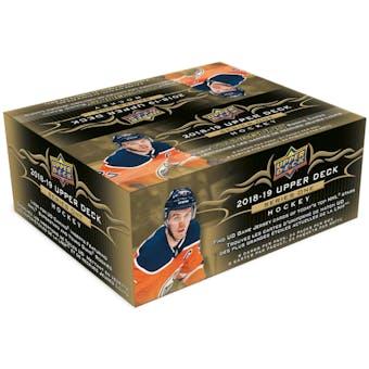 2018/19 Upper Deck Series 1 Hockey 24-Pack Box