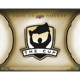 2018/19 Upper Deck The Cup Hockey Hobby 3-Box Case (Presell)