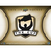 2018/19 Upper Deck The Cup Hockey Hobby Box (Presell)