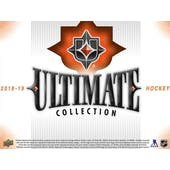 2018/19 Upper Deck Ultimate Collection Hockey Hobby 8-Box Case (Presell)