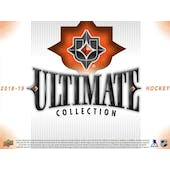 2018/19 Upper Deck Ultimate Collection Hockey 8-Box Case- DACW Live 31 Pick Your Team Break #1
