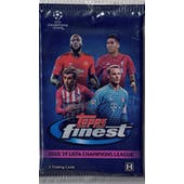2018/19 Topps Finest UEFA Champions League Soccer Hobby Pack