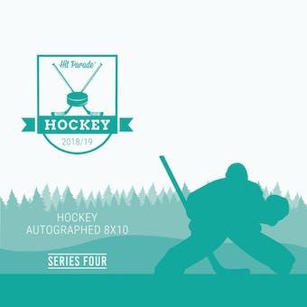 2018/19 Hit Parade Autographed Hockey 8x10 Photo Series 4 Hobby Box McDavid, Point & Aho!!