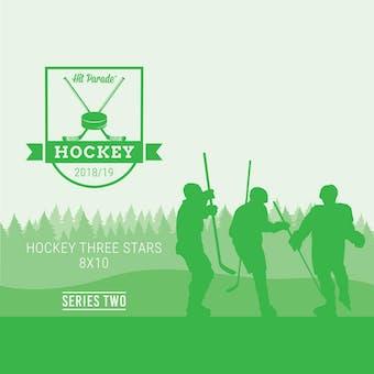 2018/19 Hit Parade Autographed Hockey Three Stars 8x10 Photo Series 2 Hobby Pack Box Orr & McDavid!!