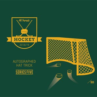 2018/19 Hit Parade Autographed HAT TRICK Series 6 Hockey 3-Box - DACW Live 9 Spot Random Hit Break #1