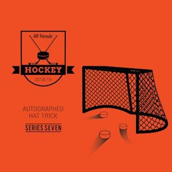 2018/19 Hit Parade Autographed HAT TRICK Series 7 Hockey 3-Box - DACW Live 9 Spot Random Hit Break #2