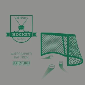 2018/19 Hit Parade Autographed HAT TRICK Hockey Series 8 Hobby Box McDavid, Matthews & Ovechkin!