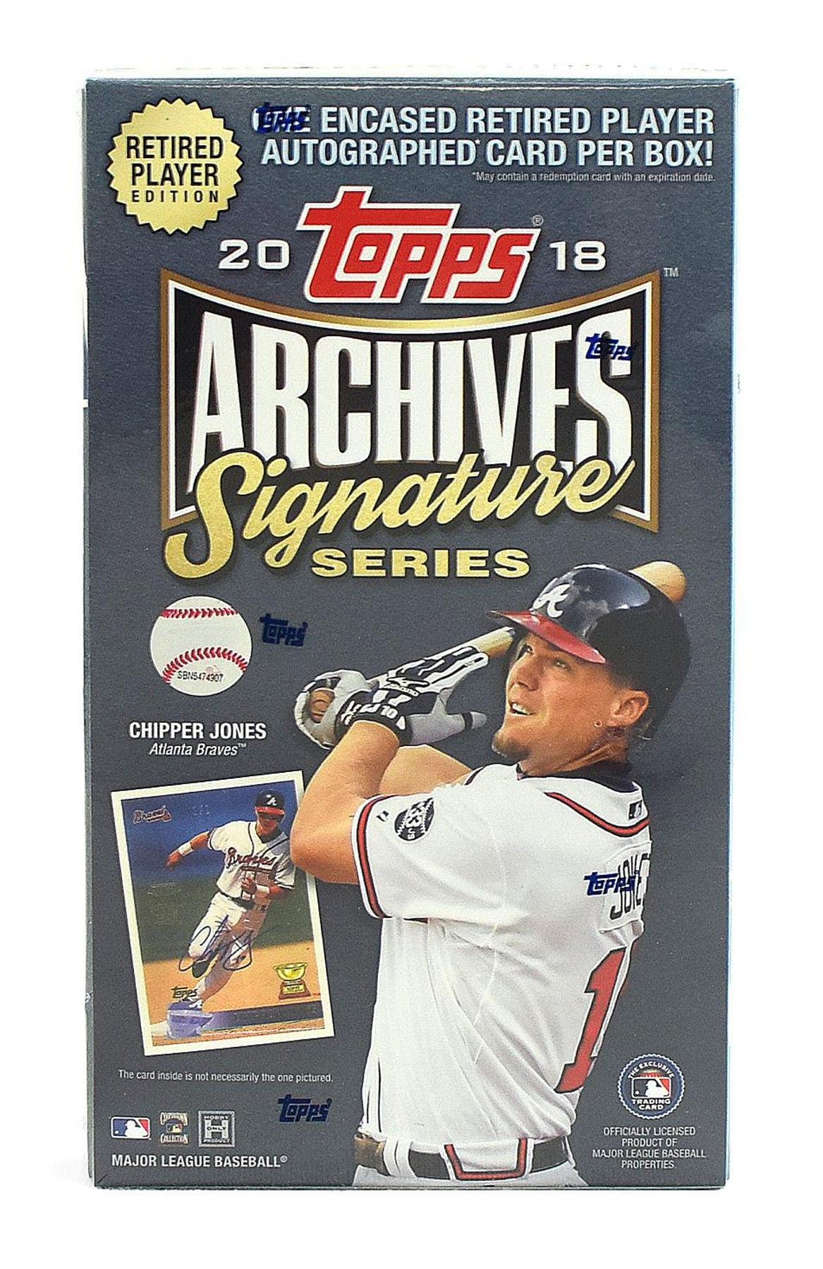 2018 Topps Archives Signature Series Retired Player Edition Baseball Hobby Box