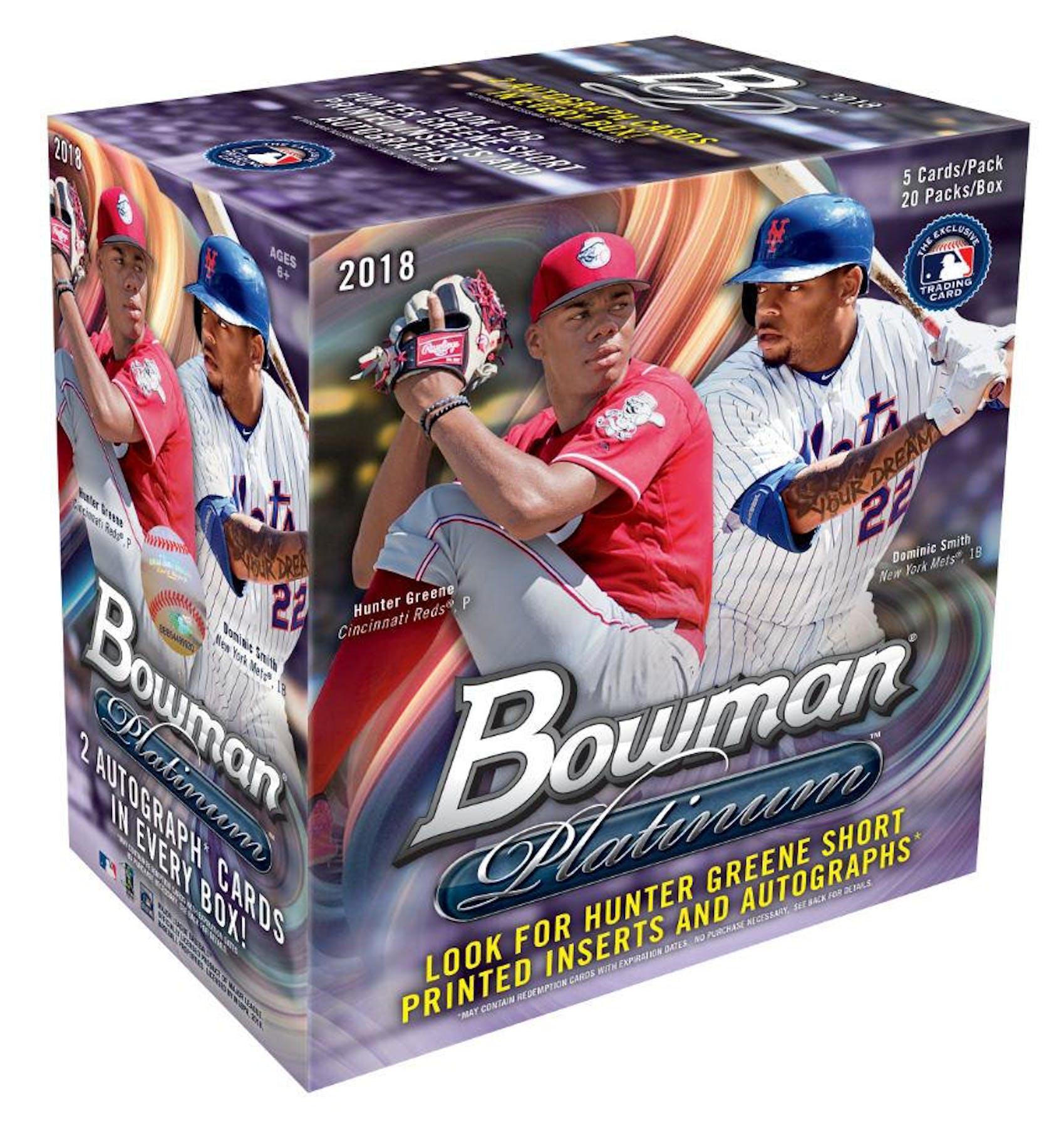 2018 Bowman Platinum Baseball Collector Box Da Card World