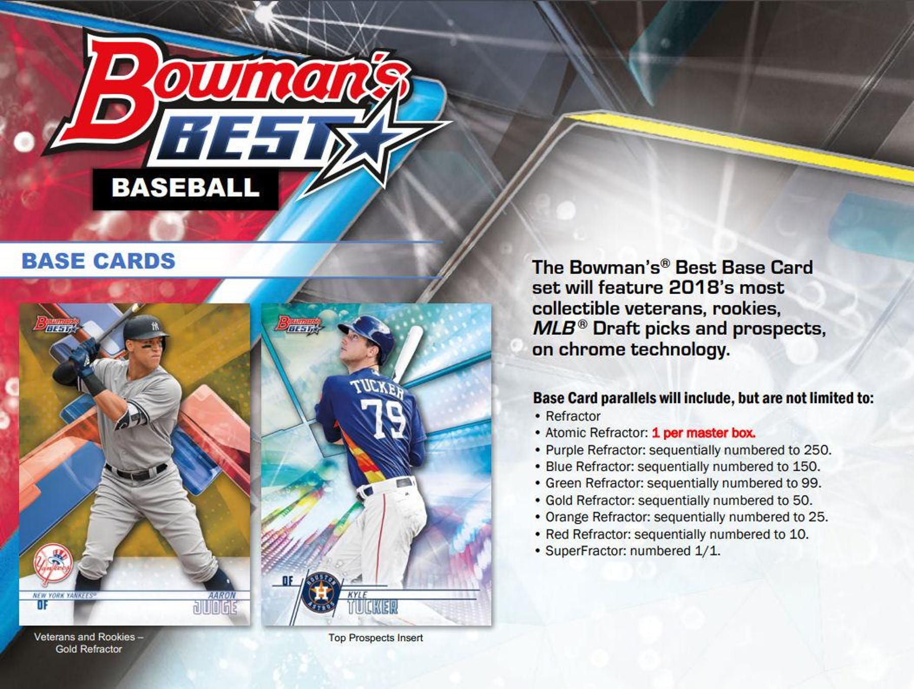 2020 Bowmans Best 2018 Bowman's Best Baseball Hobby Box | DA Card World