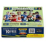2018 Panini Contenders 1st Off The Line Football Hobby Box