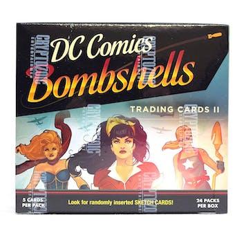 DC Comics Bombshells Trading Cards II Box (Cryptozoic 2018)