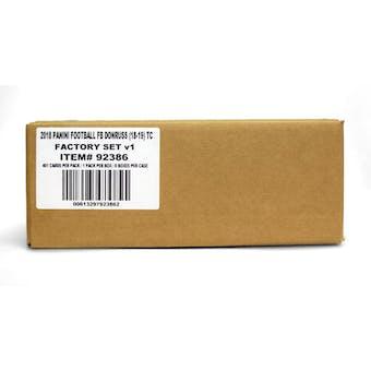 2018 Panini Donruss Football Factory Set (Box) Case (8 Ct.)