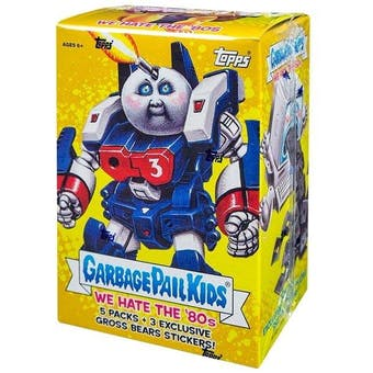 Garbage Pail Kids Series 1 We Hate The 80's 5-Pack Blaster Box (Topps 2018)