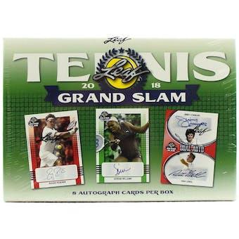 2018 Leaf Grand Slam Tennis Hobby Box