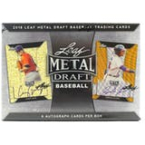 2018 Leaf Metal Draft Baseball Hobby Box