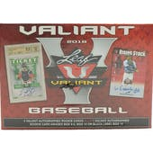 2018 Leaf Valiant Draft Baseball Hobby Box