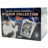 2018 Topps Baseball MLB Sticker Collection Box