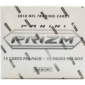 2018 Panini Prizm Football Multi/Cello 12-Pack Box