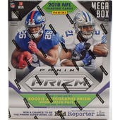 2018 Panini Prizm Football Mega Box