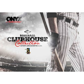 2018 Onyx Clubhouse Collection Baseball Hobby Box