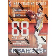 2018/19 Panini Hoops Basketball 11-Pack Blaster Box