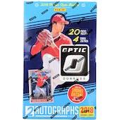 2018 Panini Donruss Optic Baseball Hobby Box