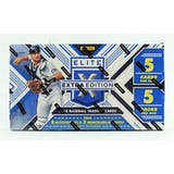 2018 Panini Elite Extra Edition Baseball Hobby Box