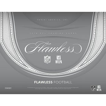 2018 Panini Flawless Football 2-Box Case- DACW Live 32 Spot Pick Your Team Break #1
