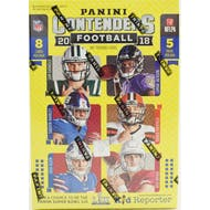 2018 Panini Contenders Football 5-Pack Blaster Box