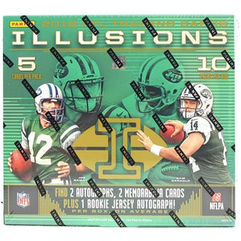 2018 Panini Illusions Football 8-Box Case- DACW Live 32 Pick Your Team Break  #2